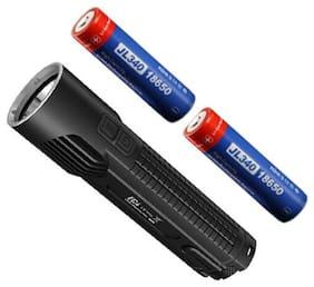 Nitecore EC4 1000 Lumen XM-L2 U2 LED Flashlight  w/2x Jetbeam 3400mAh Batteries