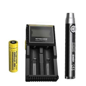 Nitecore GEM10UV GEM IDENTIFICATION Flashlight w/NL1835 Battery + D2 Charger