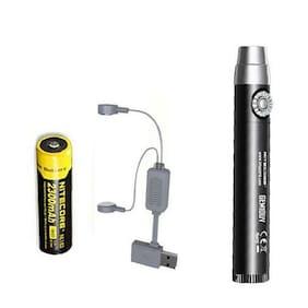 Nitecore GEM10UV GEM IDENTIFICATION Flashlight w/NL183 Battery + A1 Charger