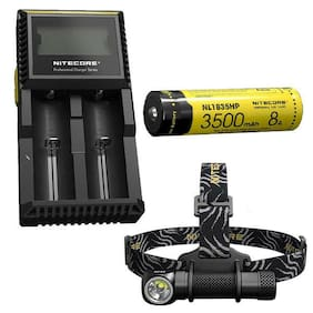 Nitecore HC33 Cree XHP35 LED Headlamp - 1800Lm w/NL1835HP Battery & D2 Charger