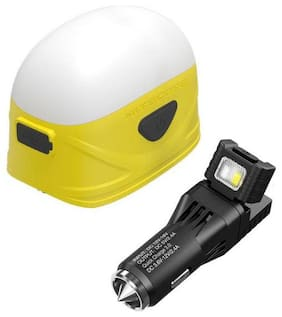 Nitecore LA30 Rechargeable Lantern (Yellow) w/VCL10 Multi-Tool/USB Car Adapter