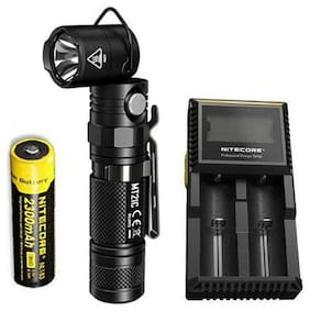 NITECORE MT21C 1000 Lumen Adjustable Flashlight w/NL183 Battery & D2 Charger