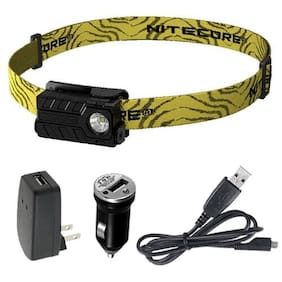 Nitecore NU20 Rechargeable Headlamp w/USB Cord +Adaptors -Optional Color Choices