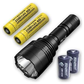 NEW P30 LED Flashlight 1000 Lumen w/ 2x NL2150HPR 21700 Batteries & TypeC Cable