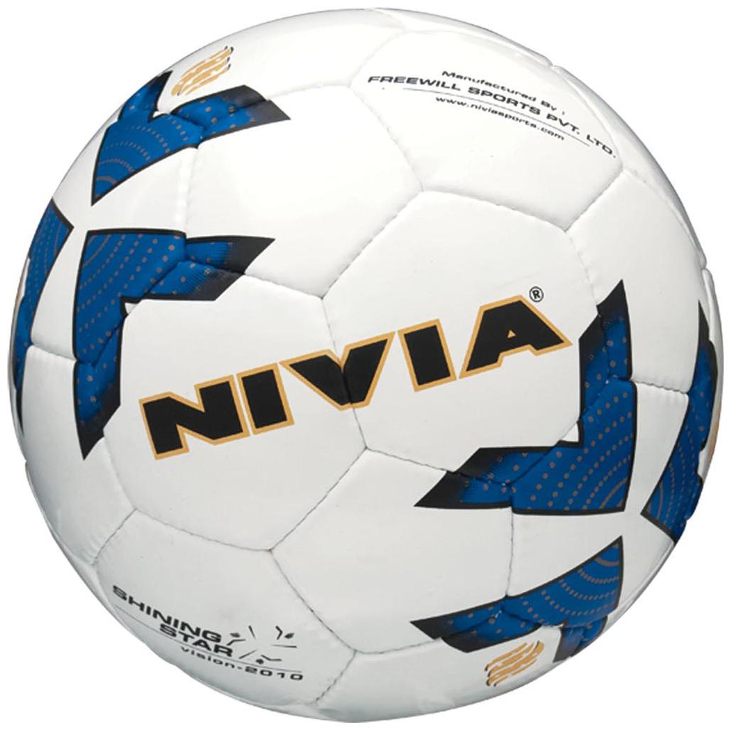 Nivia 292 Shining Star Football Blue by D And O Ventures