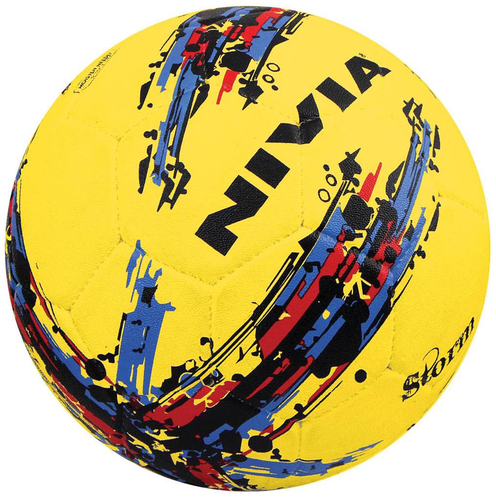 Nivia 354 Storm Football Yellow by D And O Ventures