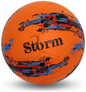Nivia 354 Storm Orange Football-Orange