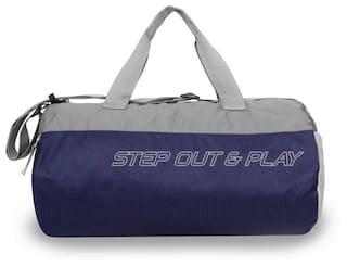 6ad7e7770c1 Buy Nivia Beast -3 Gym Bag Duffel (Blue, Grey, Kit Bag) Online at ...