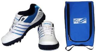 Nivia Carribean Cricket Shoes & MD Bag