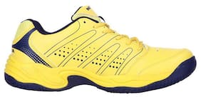 Nivia Zeal Tennis Shoes For Men-Yellow And Black