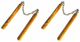 Nunchaku Wooden Combo (Pack of 2)