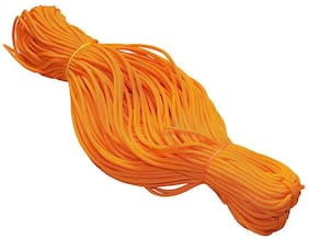 Nylon 4mm Macrame Cord (40 Meters) 6 ply Nylon Knotting Poly Propylene Cord for Macrame (Approx - 100 Grams) Ideally Used for Jewelry Making, Bags, Jula Macking Various Other Craft Projects.