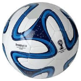 oms best quality PVC football size 5 brazu blue