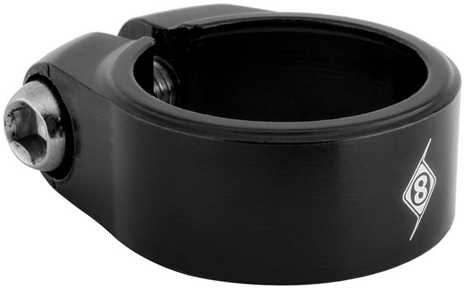 Al6061-T6 Origin8 Pro-Fit Seatpost Clamp Seatposts Black 29.8Mm