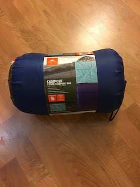 Ozark Trail Campout - Youth Sleeping Bag - Blue/Teal  *Unopened/New*