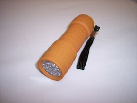 Ozark Trail LED Mini Rubberized Flashlight with 3 AAA Batteries - New Colors