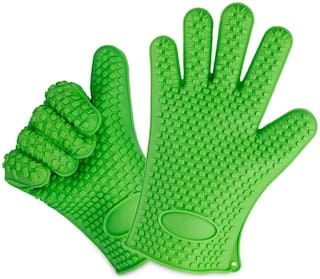 Shuban Full finger glove - 2xl Size , Green