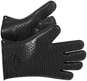 Shuban Full finger glove - 2xl Size , Black