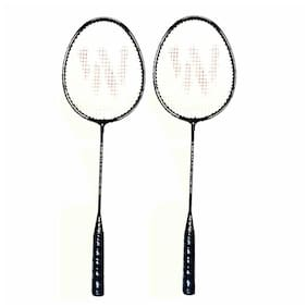 Pair of Shuttle Badminton racket WSG Blacken