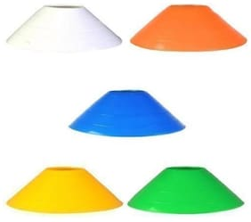 Pandey Sports Disc Cones - Field Markers - Saucer Cones - Soccer - Lacrosse - Basketball - Baseball