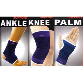 Combo of Knee, Palm, Ankle Supports for fitness