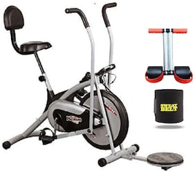 PLATINUM GYM BIKE HX300 WITH BACK SEAT AND TWISTER || MOVING HANDLE || BONUS SWEAT BELT AND TUMMY TRIMMER