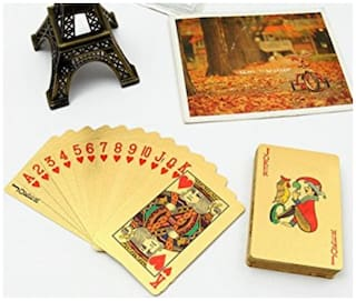 Playing Cards Golden Super Quality Family friend Festival Game