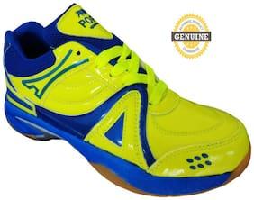 Port mens green badminton shoes