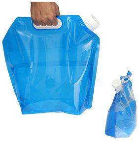 Portable Folding Water Storage Lifting Bag Camping Hiking Survival 5L