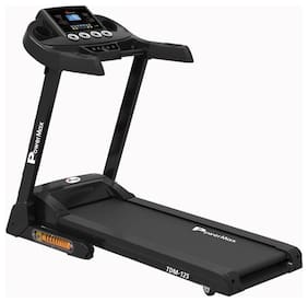 PowerMax Fitness TDM-125 Semi-Auto Lubricating Treadmill with Android & iOS App