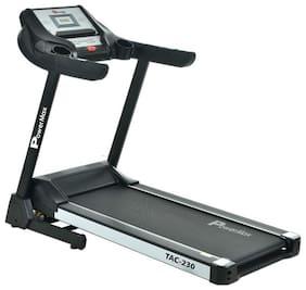 PowerMax Fitness TAC-230 AC Motorized Treadmill with Auto Incline;MP3 & iPad Holder