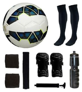 Premier League Blue Football (Size-5) with 5 Other items