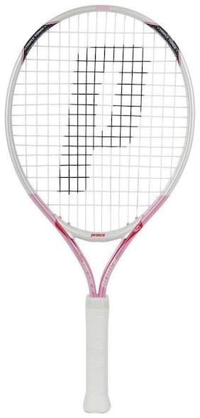 Prince AirO Pink Team 21 WIMB Strung Junior Girls Tennis Racket - 7T21W205