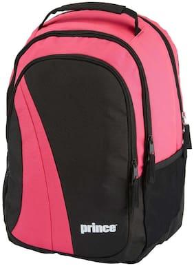 Prince Club Tennis Backpack (Black/Pink) - 6P523914