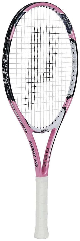Prince Pink 25 Strung Junior Girls Tennis Racket - 7T20V205