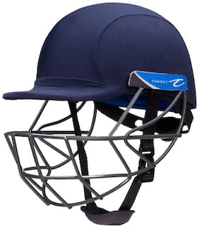 Pro Axis Helmet with Mild Steel Grill Navy Blue