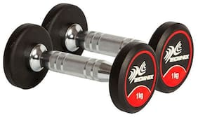 PRO SERIES DUMBBELLS - 1Kg (Pair)