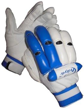 Prokyde Aligator Batting Glove-White (Size-L)