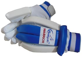 Prokyde Warrior Batting Glove-White (Size-S)