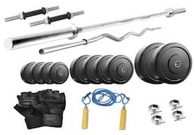 Protoner 18 Kg With 4 Rods Home Gym Package