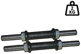 Protoner Dumbbell Rod-Black (Size-14) 1 Pair