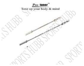 Protoner Weight Lifting Rods 1 X 5 ft 1 X 3 ft Bar 4 Locks