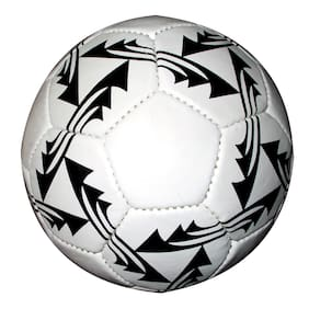 PU White and Black Match Football