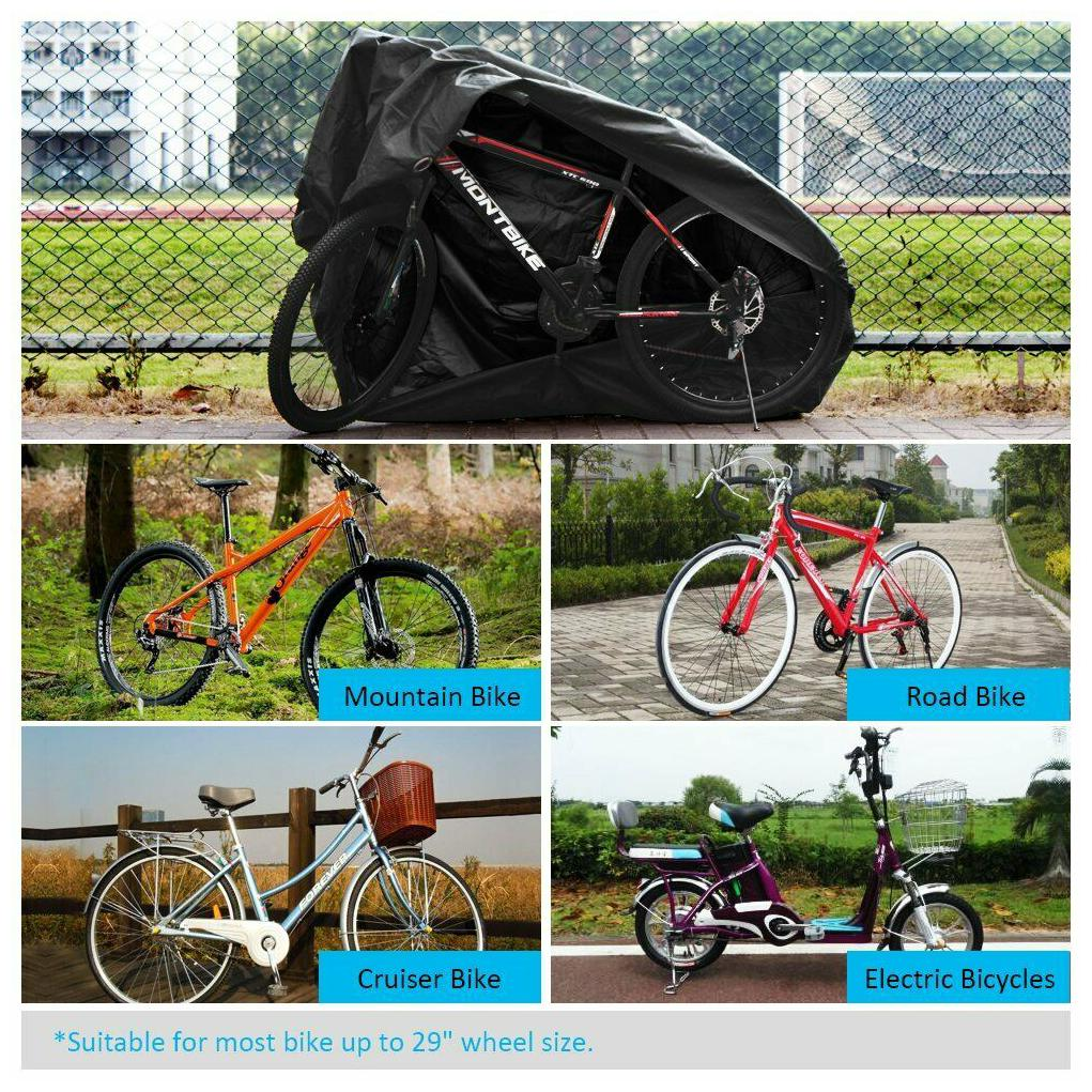 Puroma Bike Cover Outdoor Waterproof Bicycle Covers Rain Sun UV Dust Wind...