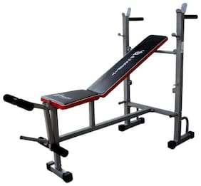 Push2Fit 6 in 1 Bench for Multi Type Exercises