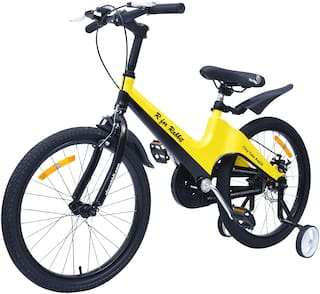 R for Rabbit Tiny Toes Rapid Bicycle for Kids - Smart Kids Cycle with Plug and Play for Kids 7 Years to 10 Years (20 inch/T) (Yellow Black)