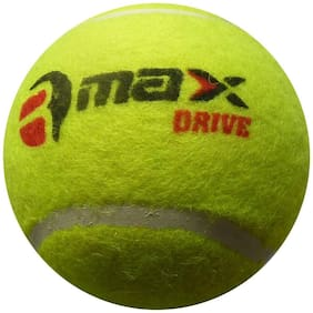 R-MAX Green CRICKET TENNIS BALLS DRIVE ( Pack Of 6 )