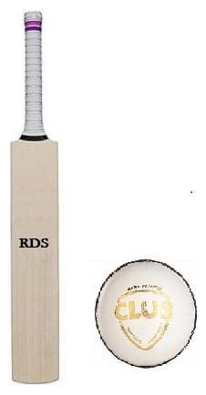 RDS Grand Edition English Willow Combo Cricket Bat With Leather Ball