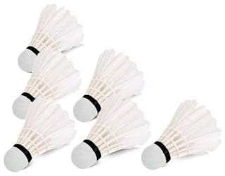 RDS Feather Shuttlecocks - Set of 6