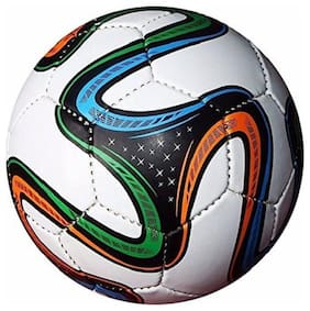 RDS Hand Stitched Multicolor Brazuuca Football